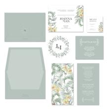Invitación de Matrimonio. Un projet de Aquarelle de Cristina Cilloniz - 11.01.2021