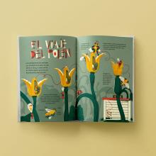 Mi Proyecto del curso: Ilustración informativa: despierta la curiosidad. Um projeto de Ilustração, Ilustração digital e Ilustração infantil de Bruno Valasse - 13.08.2020