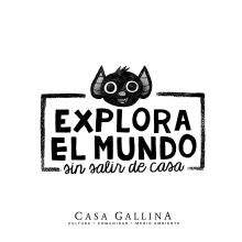 EXPLORA EL MUNDO sin salir de casa. A Illustration, Graphic Design, T, pograph, Drawing, and Children's Illustration project by jozedaniel - 01.14.2021