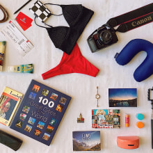 Projeto de Fotografia Profissional Instagram: Flatlay de viagens. Un proyecto de Fotografía con móviles, Fotografía digital, Fotografía para Instagram, Composición fotográfica, Fotografía Lifest, le y Fotografía en interiores de Margarida Seguro - 14.01.2021