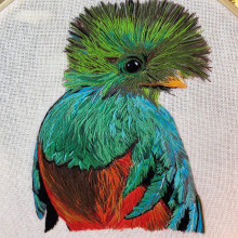 Mi Proyecto del curso: Pintar con hilo: técnicas de ilustración textil. Um projeto de Artesanato, Criatividade e Bordado de Gabriela Blanco - 14.01.2021