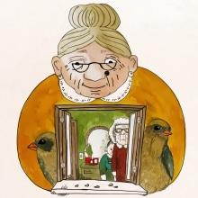 Mi Proyecto del curso: Relatos ilustrados: de la idea al papel. Um projeto de Pintura em aquarela, Ilustração infantil e Ilustração com tinta de Antonio Fernández San Emeterio - 17.01.2021