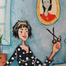 Illustration of creative activities. Un progetto di Illustrazione, Pittura , e Disegno di Dina Selisiou - 18.01.2021