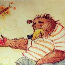 My project in Illustration Techniques for Children's Books course. Un progetto di Illustrazione, Bozzetti e Illustrazione infantile di Dina Selisiou - 18.01.2021