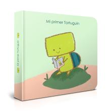 Mi primer Tortuguin / Cómo cuidar a Porotin. Un proyecto de Ilustración, Ilustración digital e Ilustración infantil de Daniela Ponce - 25.11.2018