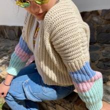 Mi Proyecto del curso: Crochet: crea prendas con una sola aguja. A Costume Design, Crafts, Sewing, DIY, and Crochet project by Daniela Fonseca - 01.19.2021