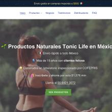 Tienda de productos naturistas MX. Un proyecto de Marketing Digital y e-commerce de Alfonso Castro Flores - 22.01.2021