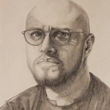 Autorretrato . Un proyecto de Ilustración de retrato de Jorge Orlando Moctezuma Hernández - 24.01.2021