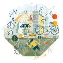 Mi Proyecto del curso: Ilustración expresiva a toda línea. A Illustration project by Anabel Carrasco - 01.25.2021