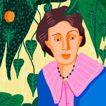 Virginia Woolf. Um projeto de Ilustração de Gisele Murias - 25.01.2021