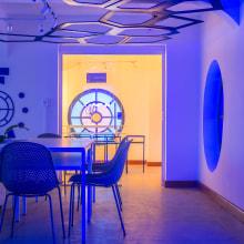 Locomotiva Hub. Un proyecto de Fotografía, Fotografía arquitectónica y Fotografía en interiores de Jesús Pérez - 26.01.2021
