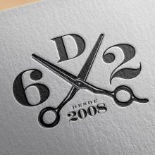 BARBERÍA SEISDEDOS. Un proyecto de Dirección de arte, Br, ing e Identidad, Diseño gráfico y Diseño de logotipos de Oscar Gómez Trigo - 27.01.2021
