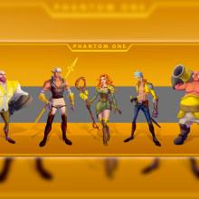 Meu projeto do curso: Introdução ao desenho de personagens para animação e videogames. Un proyecto de Diseño de personajes, Ilustración digital y Concept Art de Gilberson Andrade - 29.01.2021