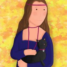 Meu projeto do curso: Ilustração digital com Procreate. Un proyecto de Ilustración e Ilustración digital de Fernanda Melo Almeida - 31.01.2021