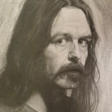 Meu projeto do curso: Retrato realista com lápis grafite. Un proyecto de Dibujo a lápiz, Ilustración de retrato y Dibujo de Retrato de Lara Francisco - 01.02.2021