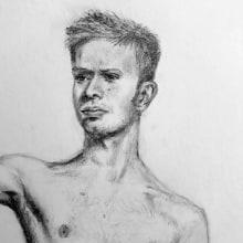Mi Proyecto del curso: Dibujo realista de la figura humana. Un proyecto de Dibujo realista de Arlette Cassot - 03.02.2021