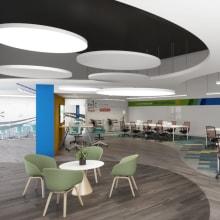 Centro de Monitoreo / Aquitectura y Diseño de Interiores. Un proyecto de Diseño, Arquitectura interior y Creatividad de KAREN MARCEL AVILA COLÍN - 01.07.2020