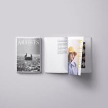 Mi Proyecto del curso: Introducción al diseño editorial. Um projeto de Design, Design editorial e Retoque fotográfico de Mónica Matanza - 05.02.2021
