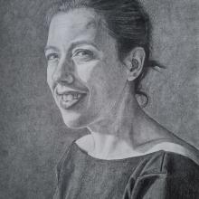 Mi Proyecto del curso: Retrato realista con lápiz de grafito. A Bleistiftzeichnung project by josegallart - 06.02.2021