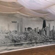 Skyline Mural. Un progetto di Pittura ad acquerello , e Pittura acrilica di Arthur Braud - 07.02.2021