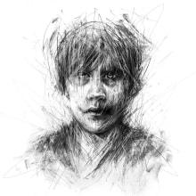 Charcoal Drawing Album Cover. Un progetto di Illustrazione, Disegno, Illustrazione di ritratto, Disegno di ritratto , e Disegno artistico di Arthur Braud - 07.02.2021