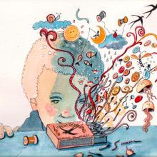Mi Proyecto del curso: Relatos ilustrados: de la idea al papel. Un projet de Illustration, Aquarelle et Illustration jeunesse de Marieta Alonso-Collada - 07.02.2021