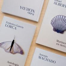 Colección grandes clásicos de poesía. A Illustration, Verlagsdesign und Kartonmodellbau project by Beatriz Costo - 08.02.2021
