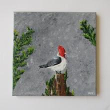Proyecto Aves al óleo. Um projeto de Artes plásticas e Pintura a óleo de Noemi Alvarenga - 08.02.2021