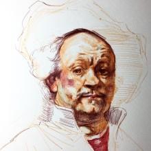 Copia de Rembrandt. A Zeichnung und Porträtzeichnung project by Alonso Palomino - 09.02.2021