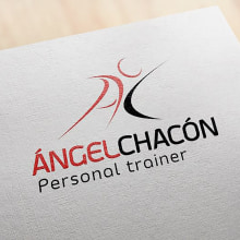 Logotipo Personal Trainer. Un proyecto de Fotografía, Br, ing e Identidad y Diseño gráfico de Pablo Muñoz Gonzalez - 18.10.2016