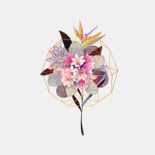 Bontánica. Un progetto di Illustrazione, Illustrazione digitale e Illustrazione botanica di Charlötte - 09.02.2021