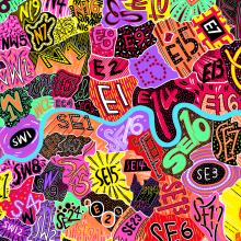 Self Initiated Maps. Um projeto de Ilustração, Serigrafia, Estampagem e Desenho artístico de Jess Wilson - 23.08.2019