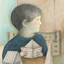 Libro Tres veces tres la mar . A Editorial Illustration project by Leonor Pérez B. - 02.14.2021