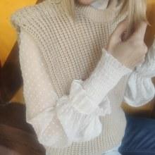 Mi Proyecto del curso: Crochet: crea prendas con una sola aguja. Um projeto de Artesanato de Laura Campos Lorenzo - 17.02.2021