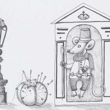 My project in Surrealistic Fineliner Illustration course. Un progetto di Disegno realistico di koutna.marianna - 18.02.2021