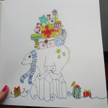Coloring books. A Pencil drawing project by izabellapanko - 02.19.2021