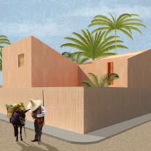 Mi Proyecto del curso: Representación gráfica de proyectos arquitectónicos. Un proyecto de Arquitectura de Omar Correa - 20.02.2021