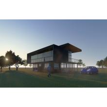 Mi Proyecto del curso: Diseño y modelado arquitectónico 3D con Revit: Autor: Martín Stern. Un proyecto de Arquitectura de Martin Stern - 21.02.2021