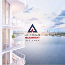 Novo projetoAmerican Investment Alliance. Un proyecto de Diseño, Br, ing e Identidad, Diseño gráfico y Diseño de logotipos de Bruno Magrini - 22.02.2021