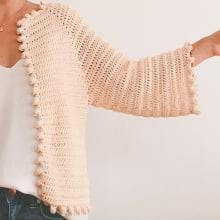 Mi Proyecto del curso:  Top-down: prendas a crochet de una sola pieza. Um projeto de Crochê de Andrea M - 25.02.2021