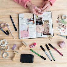 Mi bullet journal - Inspiración. Un projet de Papercraft de Little Hannah - 26.02.2021