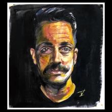Mi Mario . Un progetto di Pittura, Brush painting , e Pittura ad olio di Teissi Aranda - 27.02.2021