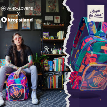 Vandalovers x kropsiland . A Product Design, Pattern Design, and Vector Illustration project by Kropsiland - 03.01.2021