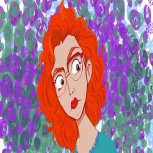 My project in Female Character Portraits in Procreate course. Un progetto di Animazione 2D di Darquesse Cain - 03.03.2021