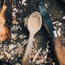 Mi Proyecto del curso: Talla de cucharas en madera. Um projeto de Artesanato de suarezp.juan - 26.02.2021