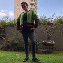 LGMC:  Top-down, prendas a crochet de una sola pieza. Um projeto de Crochê de Lorena Gaona - 27.02.2021