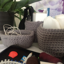 Crochet Basket. A Crochet project by Iva Reis - 03.02.2021