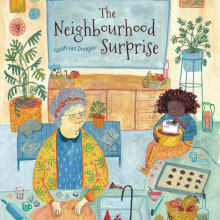 The neighbourhood surprise . A Children's Illustration project by Sarah van Dongen - 04.22.2021