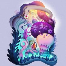 The Water Pilfer. Un progetto di Illustrazione, Character Design, Fumetto, Illustrazione vettoriale, Creatività, Illustrazione digitale, Arte concettuale e Illustrazione infantile di Nathan Jurevicius - 08.03.2021
