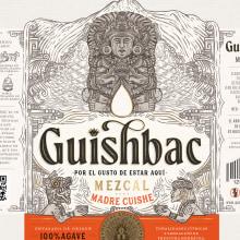 GUISHBAC - Mezcal 100% agave 🇲🇽⛰️. Um projeto de Design, Ilustração, Design gráfico, Packaging, Desenho a lápis, Desenho, Desenho de Retrato e Desenho artístico de Emi Renzi - 09.03.2021